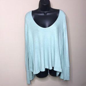 We The Free Thermal Knit Flowy Tunic Size XS